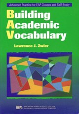 Building Academic Vocabulary | Lawrence Zwier |