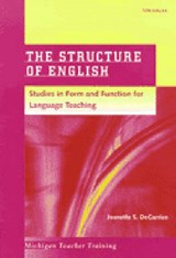 The Structure of English | Decarrico, Jeanette S. ; Franks, Carol S. |