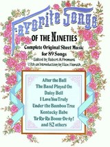 Favorite Songs of the 1890s | auteur onbekend |