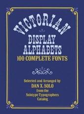 Victorian Display Alphabets