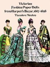 Victorian Fashion Paper Dolls from Harper's Bazar, 1867-1898