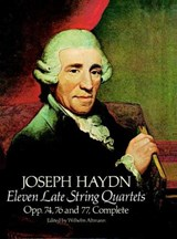 Eleven Late String Quartets, Opp. 74, 76 and 77, Complete | Joseph Haydn |