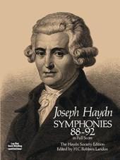 Symphonies 88-92 in Full Score