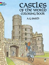 Castles of the world coloring book