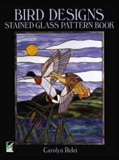 Bird Designs Stained Glass Pattern Book