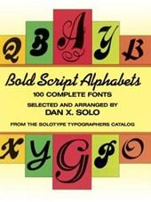 Bold Script Alphabets