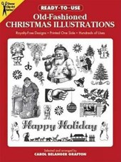 Ready-To-Use Old-Fashioned Christmas Illustrations