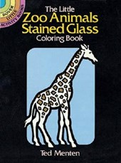 The Little Zoo Animals Stained Glass