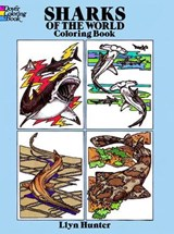 Sharks of the World Coloring Book | Llyn Hunter |