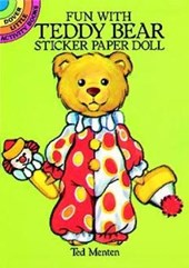 Fun with Teddy Bear Sticker Paper Doll | Ted Menten |