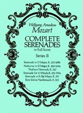 Complete Serenades in Full Score, Series II