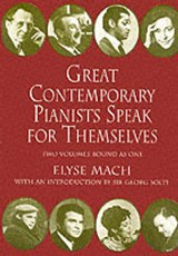 Great Contemporary Pianists Speak for Themselves | Elyse Mach |