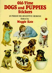 Old-Time Dogs and Puppies Stickers