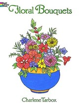 Floral Bouquets Colouring Book | Charlene Tarbox |