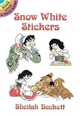 Snow White Stickers | Sheilah Beckett |