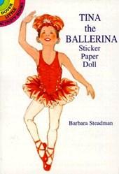 Tina the Ballerina Sticker Paper Doll