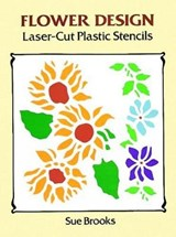Flower Design Laser-Cut Plastic Stencils | Sue Brooks |