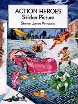 Action Heroes Sticker Picture | Steven James Petruccio |