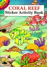 Coral Reef Sticker Activity Book | Cathy Beylon |