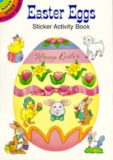Easter Eggs Sticker Activity Book | Cathy Beylon |