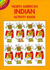 North American Indian Activity Book | Winky Adam |