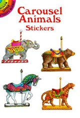 Carousel Animals Stickers | Judy Johnson |