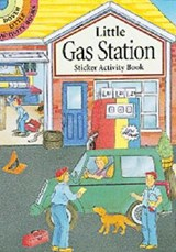 Little Gas Station Sticker Activity Book | Cathy Beylon |