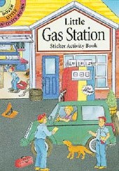 Little Gas Station Sticker Activity Book