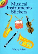 Musical Instruments Stickers | Winky Adam |