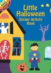 Little Halloween Sticker Activity Book
