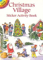 Christmas Village Sticker Activity Book [With Stickers]