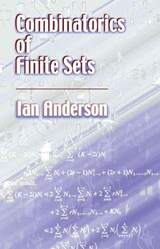 Combinatorics of Finite Sets | Ian Anderson |