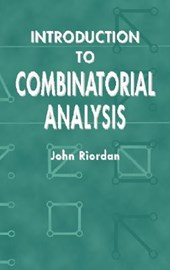 Introduction to Combinatorial Analysis | John Riordan |