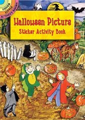 Halloween Picture Sticker Activity Book [With Sticker] | Joan O'brien |