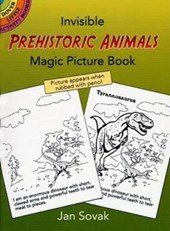 Invisible Prehistoric Animals Magic Picture Book | Jan Sovak |