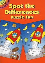 Spot the Differences Puzzle Fun | Fran Newman-D'amico |