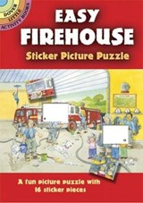 Easy Firehouse Sticker Picture Puzzle | Cathy Beylon |