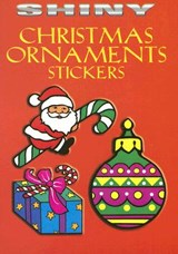 Shiny Christmas Ornaments Stickers [With 14 Full-Color Stickers] | Marty Noble |