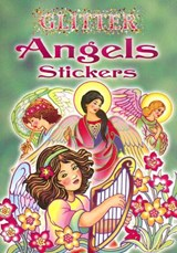 Glitter Angels Stickers | Marty Noble |