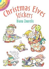Christmas Elves Stickers | Diana Zourelias |