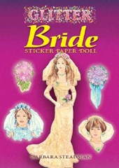 Glitter Bride Sticker Paper Doll [With Stickers]