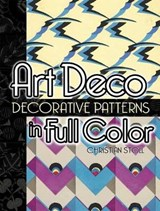 Art Deco Decorative Patterns in Full Color | Christian Stoll |