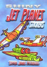 Shiny Jet Planes Stickers | Steven James Petruccio |