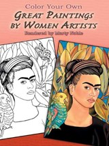 Color Your Own Great Paintings by Women Artists | Marty Noble |