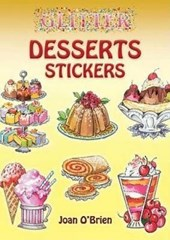 Glitter Desserts Stickers [With Stickers]