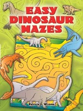 Easy Dinosaur Mazes