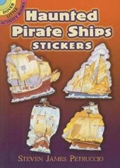 Haunted Pirate Ships Stickers