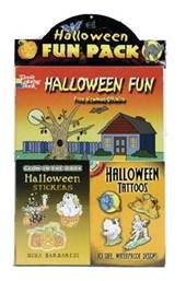 Halloween Fun [With Glow-In-The-Dark Halloween Stickers and Halloween Tattoos]