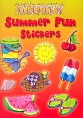 Glitter Summer Fun Stickers