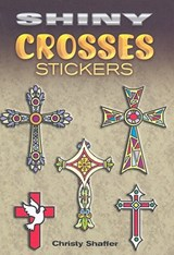 Shiny Crosses Stickers | Christy Shaffer |
